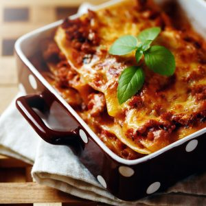 Rustic Farm to Fork-Lasagna