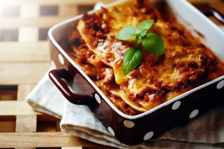 Rustic Farm to Fork-Lasagna