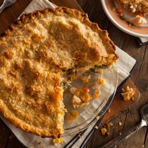 Rustic Farm to Fork-Pot Pies