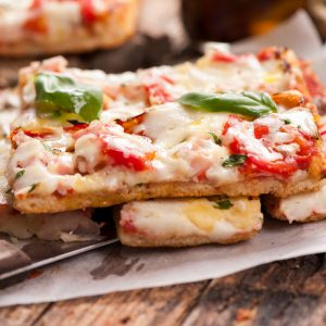 Rustic Farm to Fork-BYO Flat Bread Pizza