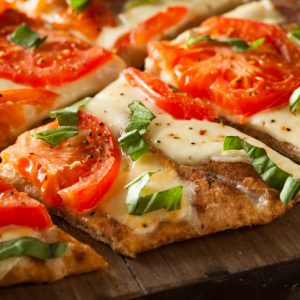Rustic Farm to Fork-BYO Vegetable Flatbread Pizza