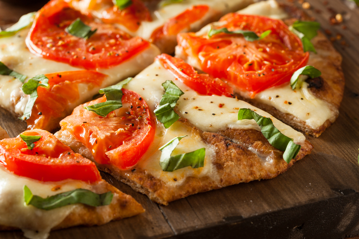 Rustic Farm to Fork-BYO Vegetable Flatbread Pizza