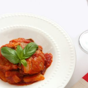 Rustic Farm to Fork-Chicken Marinara